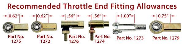 Throttle Cable End Fittings Product Group