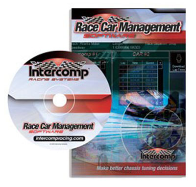Large photo of Intercomp Race Car Management Software, version 2.0, Pegasus Part No. 102065