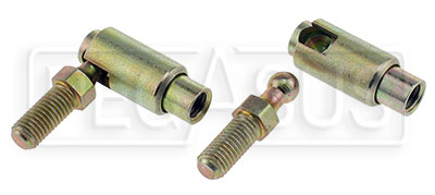 Large photo of Quick Release Stud Type Ball Joint with 1/4-28 Threads, Pegasus Part No. 1033