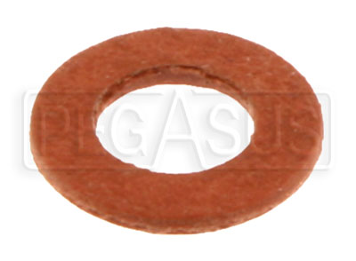 Large photo of Fiber Sealing Washer for Racetech Pressure Gauges, Pegasus Part No. 1068-003