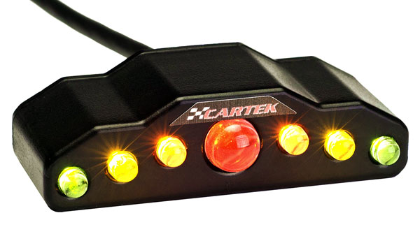 Large photo of Cartek 5-Stage Programmable Sequential Shift Light, Pegasus Part No. 1068-101
