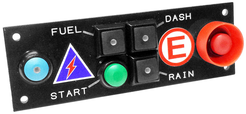 Cartek Pdm Switch Panel With Fire  Isolator  Start