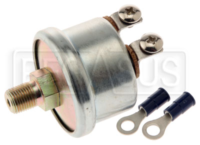 Large photo of Fuel Pump Shut-Off Switch (Low Oil Pressure), Pegasus Part No. 1109