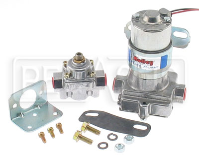 Large photo of Holley 'Blue' Fuel Pump with Regulator, 14 psi, 110 gph, Pegasus Part No. 1111