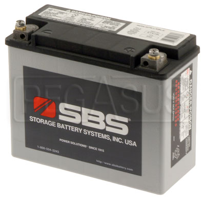 Large photo of (B) 26 AH Sealed Racing Battery (RT30), Pegasus Part No. 1178-104