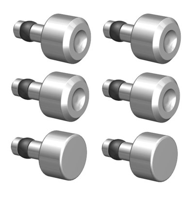 Large photo of 6 Piece Rivet Setting Die Kit, Pegasus Part No. 1187
