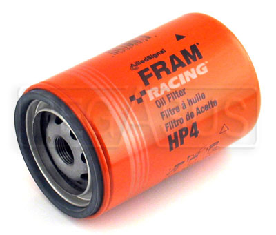 Large photo of Fram HP-4 High-Performance Oil Filter, 13/16-16, Large OD, Pegasus Part No. 1204