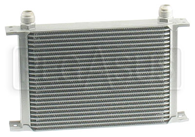 Large photo of Full Width Aluminum High Efficiency Oil Coolers, Pegasus Part No. 1210-Rows-Fitting