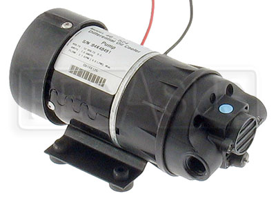 Large photo of Oil/Water Cooler Pump, 12 volt, 2 gpm, Buna N Seals, Pegasus Part No. 1239