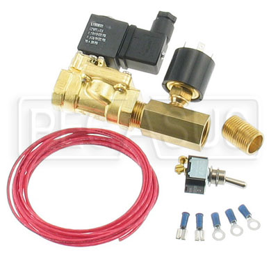 Large photo of Clearance EPC Electric Valve Kit for Accusump, 35-40psi, Pegasus Part No. CL1245-35
