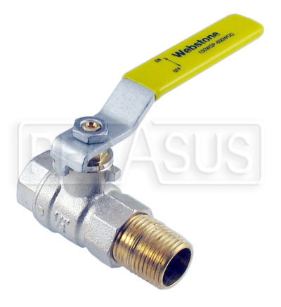 Large photo of Accusump Manual Ball Valve, Pegasus Part No. 1248