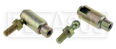 Large photo of Quick Release Stud Type Ball Joint with 10-32 Threads, Pegasus Part No. 1274