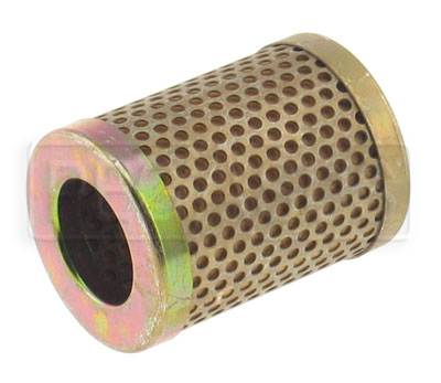 Large photo of Canton Short Oil Filter Element, 8 Micron, Pegasus Part No. 1291
