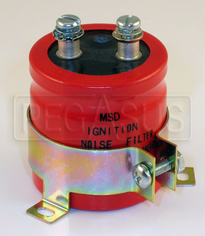 Large photo of MSD Radio Frequency Noise Filter, Pegasus Part No. 1324