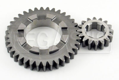 Large photo of Webster Nuovo High-Strength Gear Set for Mk 9, Pegasus Part No. 1408-Ratio