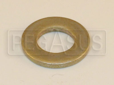 Large photo of 1/4 inch Flat Washer for Webster/Hewland Rear Cover, Pegasus Part No. 1410-A05