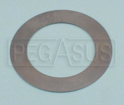 "Large photo of Webster Hub Spacing Shim 0.015"" Thick, Pegasus Part No. 1410-A40-2"