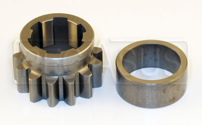 Large photo of Webster Reverse Driver (Layshaft) Gear and Spacer, 4 Speed, Pegasus Part No. 1410-A59-4