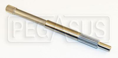 "Large photo of Formula Ford Standard Input Shaft, 11.56"" , 7/8 x 20 Spline, Pegasus Part No. 1410-C21H-1"