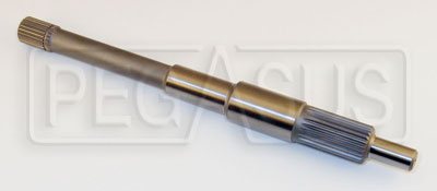 "Large photo of FF2000 / S2000 Standard Input Shaft, 11.56"", 1 x 23 Spline, Pegasus Part No. 1410-C21H-3"