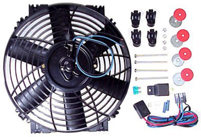 Large photo of Davies Craig Electric Thermatic Fan Kit, Pegasus Part No. 1591-001-Size