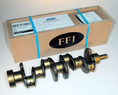 Large photo of 1.6L Stock Cast Iron Crankshaft, FFI New Manufacture, Pegasus Part No. 161-05-STK