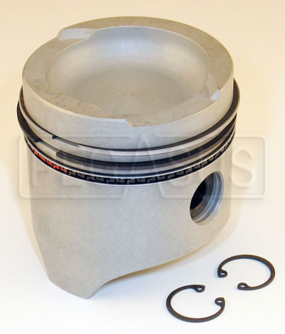 Large photo of 1.6L Hepolite Piston with Rings/Pin, Pegasus Part No. 161-15-HEPO