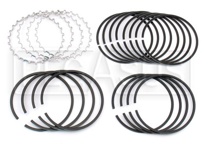 Large photo of 1.6L Ring Set, Std Size, w Lo-Tension Oil Ring (4 Pistons), Pegasus Part No. 161-22-LT