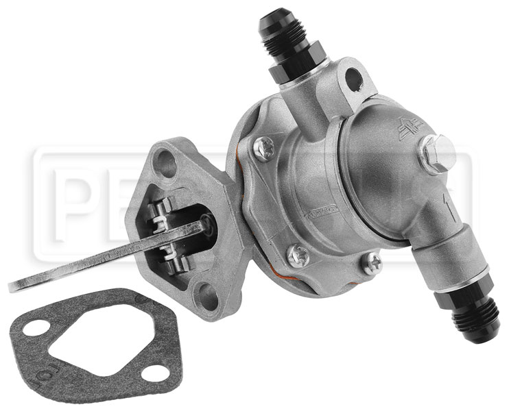 Large photo of FF1600 Fuel Pump with repositionable 6AN Fittings, Pegasus Part No. 161-79