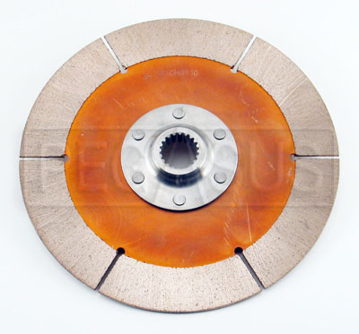 "Large photo of F3/OT-2 Clutch Disc, 7.25"", 7/8x20 Spline, FF/SV, Pegasus Part No. 163-12-TILTON"