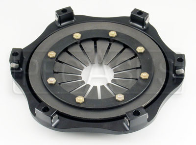 "Large photo of Tilton OT-2 Clutch Cover Only, 7.25"", Orange Spring, Pegasus Part No. 163-17-ORN"