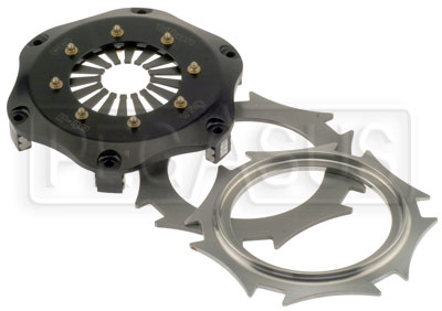 "Large photo of Tilton OT-2 Twin Plate Clutch, 7.25"", Buff Spring (No Discs), Pegasus Part No. 163-18-BUFF"