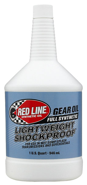 Large photo of Red Line Light Shockproof Gear Oil (Blue), Pegasus Part No. 1685-Quantity