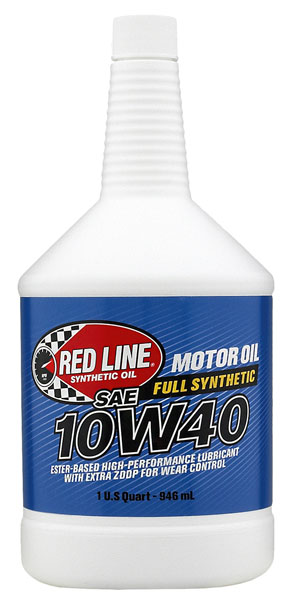 Large photo of Red Line Synthetic Motor Oil, Pegasus Part No. 1691-Viscosity-Quantity