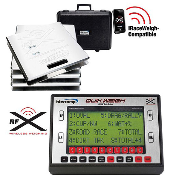 Large photo of Intercomp SW650 Quik Weigh Wireless Scale System, Pegasus Part No. 170126-W
