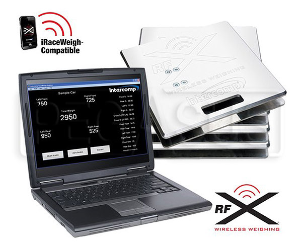 Large photo of Intercomp SW787RFX Wireless PC Scale System (No Display), Pegasus Part No. 170154-PC