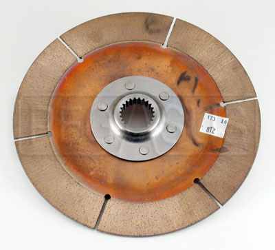"Large photo of F3/OT-2 Clutch Disc, 7.25"", 1x23 Spline, FC/F2000/S2000, Pegasus Part No. 173-16-OT2"