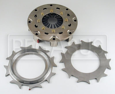 "Large photo of Tilton 5.5"" OT-3 Twin Plate Clutch, Gray Spring (No Discs), Pegasus Part No. 173-50"