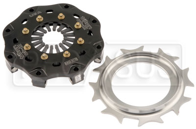 "Large photo of Tilton 5.5"" OT-3 Single Disc Clutch, Gray Spring (No Disc), Pegasus Part No. 173-60"