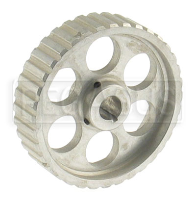 "Large photo of 36 Tooth Pump Pulley for L series belt - 5/8"" Shaft, Pegasus Part No. 177-98-003"