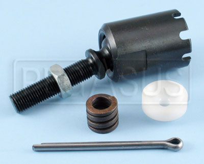 Large photo of Renault-Style Rack End Joint Assembly, 3/8-24 UNF, Pegasus Part No. 1804-3/8