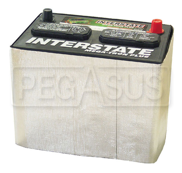"Large photo of Thermo-Tec Battery Wrap 40"" x 8"", Pegasus Part No. 1829"