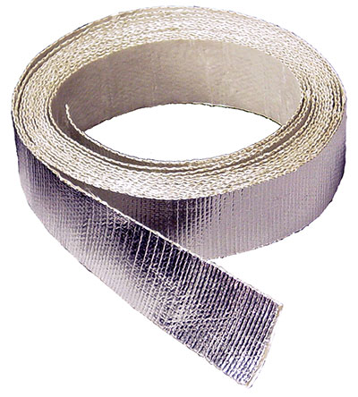 "Large photo of Self-Adhesive Aluminized Heat Barrier Tape, 1.5"" wide x 15', Pegasus Part No. 1834"