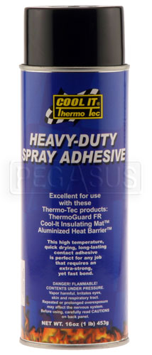 Large photo of (HAO) High Temperature Spray-on Adhesive, 16.75 oz, Pegasus Part No. 1835-020