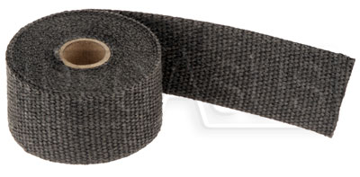 "Large photo of Black Header Wrap, 2"" wide x 1/16"" thick  - 15 foot Roll, Pegasus Part No. 1835-070"
