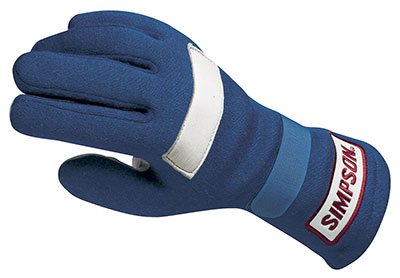 Large photo of Simpson Posigrip Nomex Gloves, SFI Approved, Pegasus Part No. 2117-Size-Color
