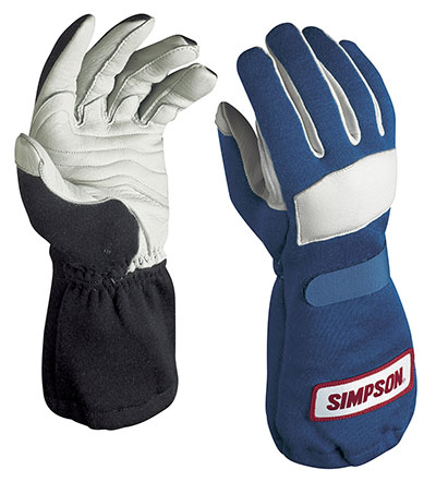 Large photo of Simpson Long Gauntlet Gloves with Talon Grip, Pegasus Part No. 2118-Size-Color