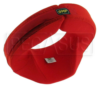 Large photo of OMP Nomex Neck Support Collar, Anatomical Design, Pegasus Part No. 2123-Color