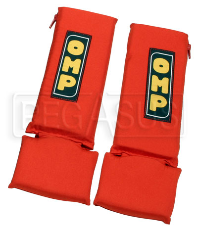 "Large photo of OMP 3"" Nomex Harness Pads, Pegasus Part No. 2130-Color"