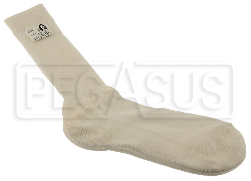 Large photo of OMP Sport Line Nomex Socks, SFI 3.3, Pegasus Part No. 2153-009-Size